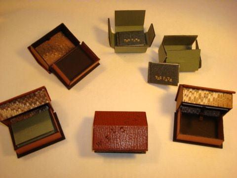 Miniature Books by Artist Dea Sasso