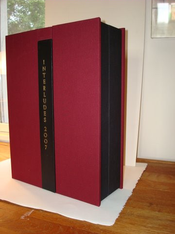 Protective Book Boxes by Dea Sasso, Light of Day Bindery