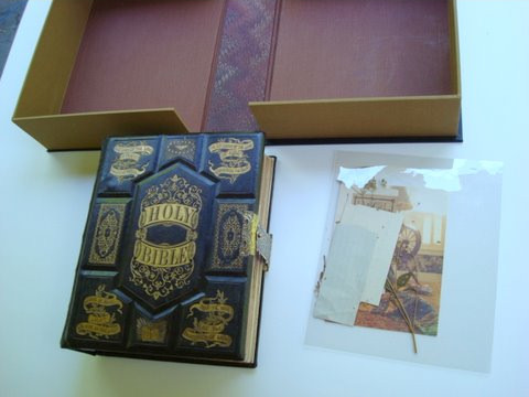 Bryan Family Bible Restoration by Dea Sasso, Light of Day Bindery